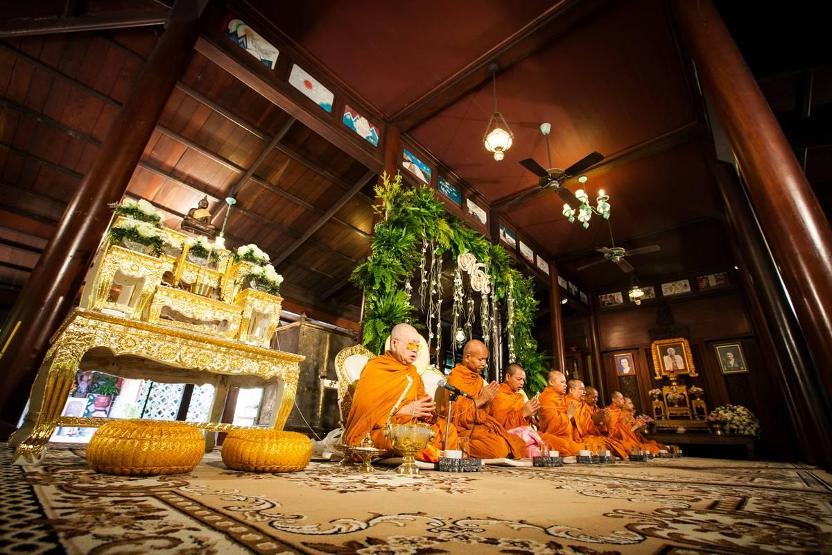 บ้านคึกฤทธิ์ รับจัดเลี้ยงนอกสถานที่ จัดงานแต่งงานในสวน พิธีไทย