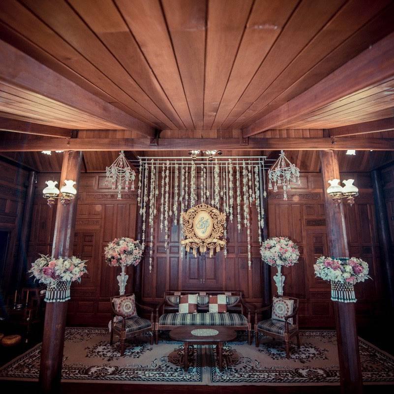 สถานที่จัดงานแต่งงาน บ้านมหาสวัสดิ์ บ้านเรือนไทยริมน้ำ