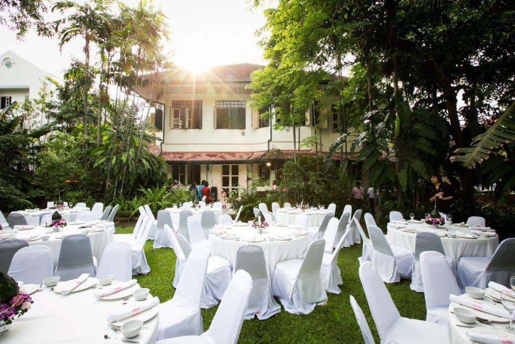 สถานที่จัดงานแต่งงานในสวนสวยๆ