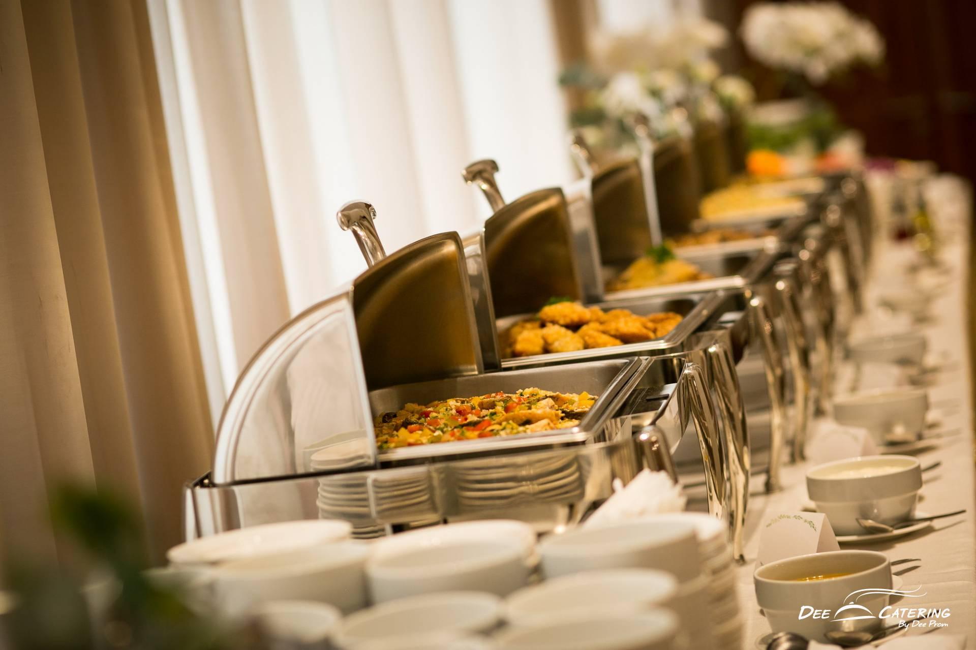 จัดเลี้ยงงานแต่งงาน จัดประชุมสัมมนา จัดงานเลี้ยง ที่ ไปรณีย์กลาง บางรัก โดย ดี เคเทอริ่ง