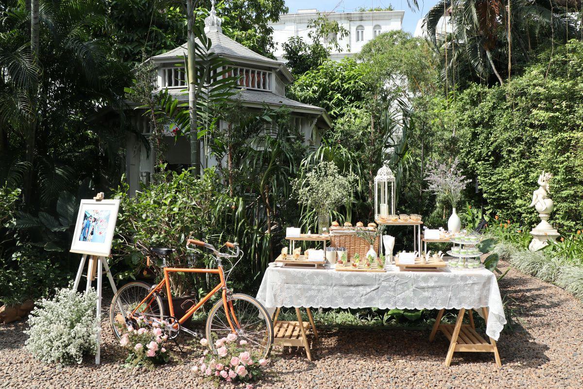 อะกาลิโก สถานที่จัดงานแต่งงานในสวน