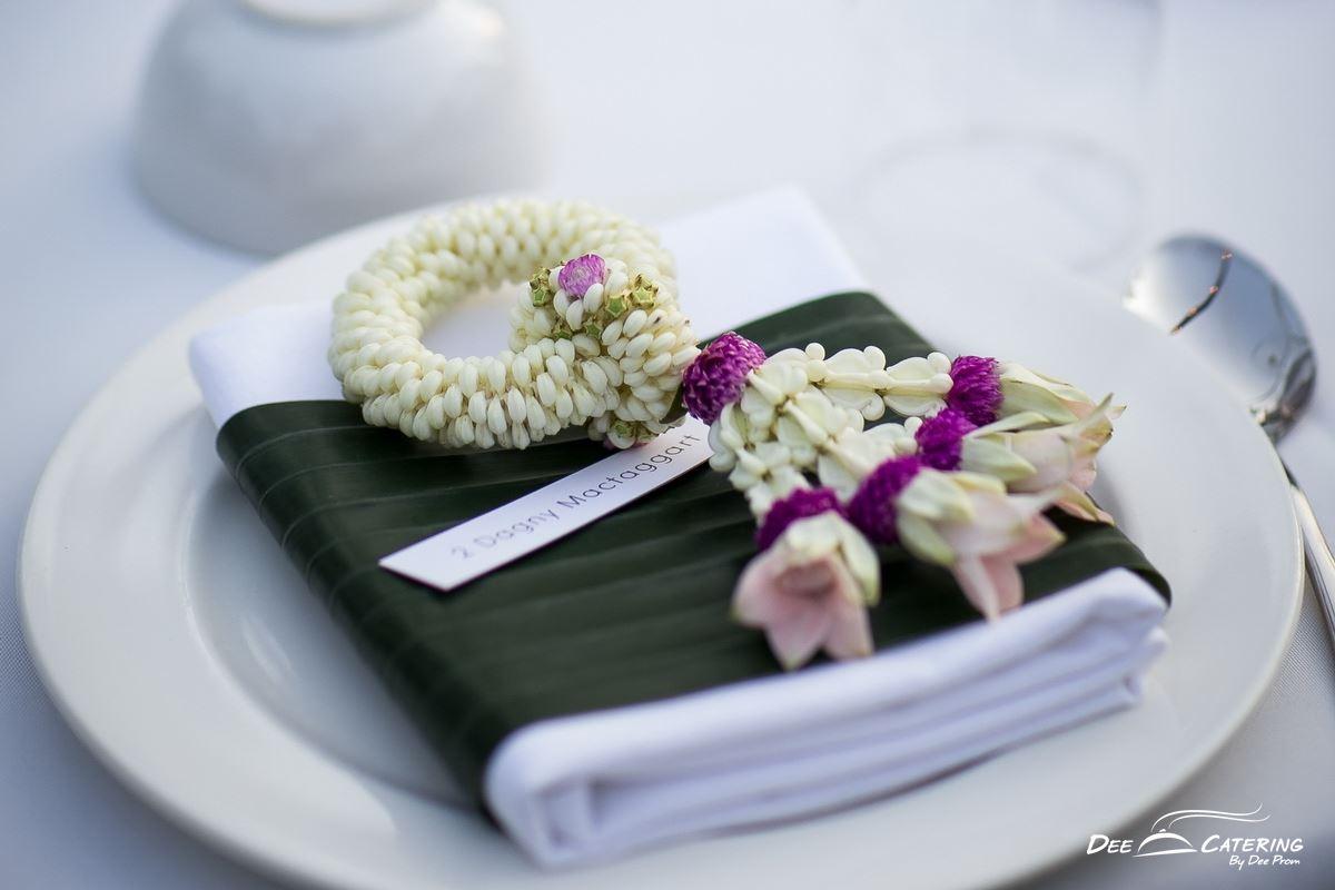 จัดเลี้ยงโต๊ะไทยให้ประทับใจแขกผู้ใหญ่