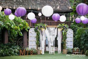 งานแต่งในสวน จัดเลี้ยงค็อกเทลในบรรยากาศสบายๆ ที่สยามสมาคม