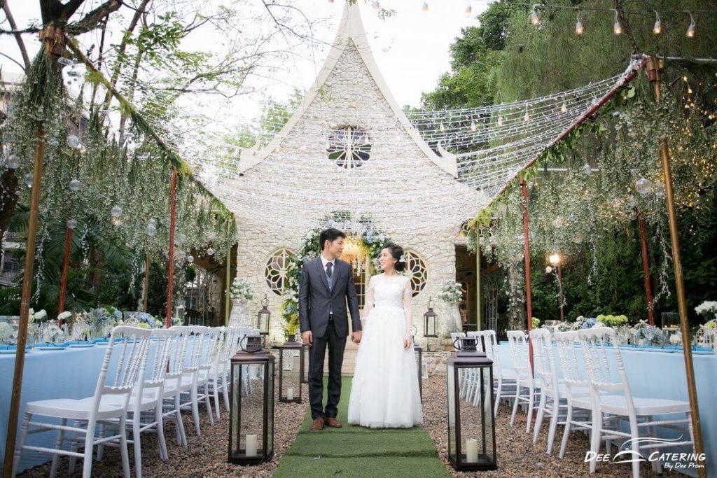 Agalico สถานที่จัดงานแต่งงานในสวนสวยสไตล์อังกฤษ