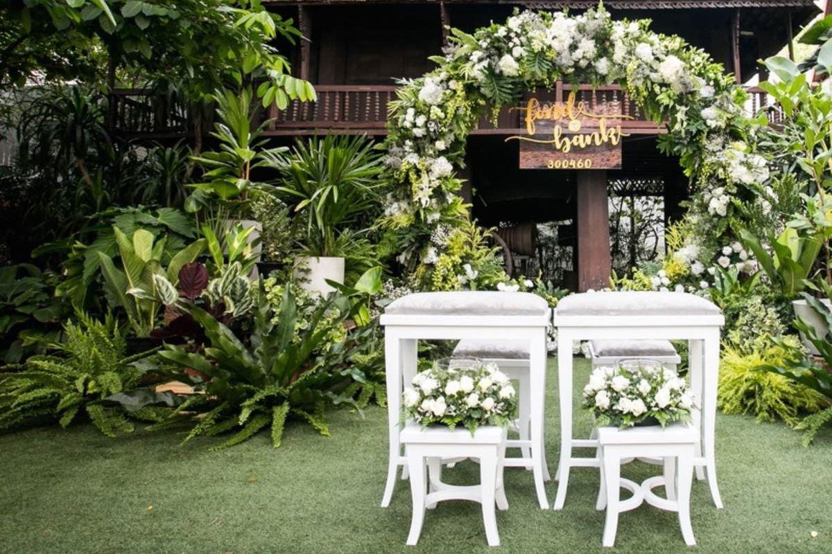 สยามสมาคม สถานที่จัดงานแต่งงานในสวน