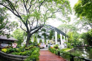 จัดงานแต่งที่บ้าน ช่วงเช้า และเลี้ยงเที่ยง บรรยากาศในสวน โดย ดี เคเทอริ่ง
